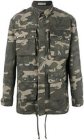 Faith Connexion Camouflage military jacket - men - Cotton - XS
