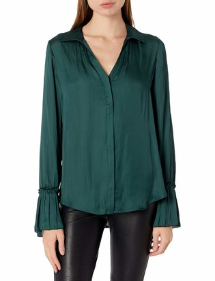 Paige Women's Abriana Long Sleeve Button Down Blouse