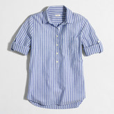 J.Crew Factory Stripe pocket popover shirt