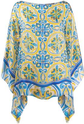 MC2 Saint Barth Amal asymmetric tunic