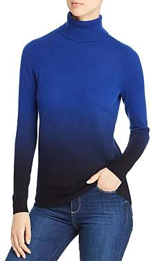 Bloomingdale's C by Dip-Dye Cashmere Turtleneck Sweater - 100% Exclusive