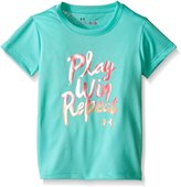Under Armour Toddler Girls Play Win Repeat Short Sleeve Tee