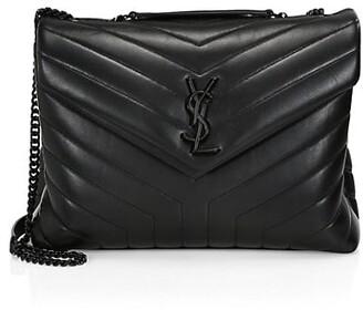Saint Laurent Medium Loulou Matelasse Leather Shoulder Bag
