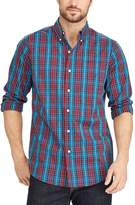 Chaps Big & Tall Classic-Fit Stretch Button-Down Shirt