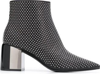 Casadei Stud Embellished Boots