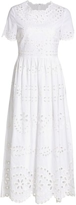 RED Valentino Eyelet Sang Dress