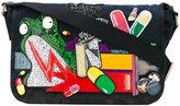 Marc Jacobs embellished laptop bag