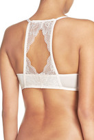 Honeydew Intimates Lace Back Underwire Push-Up Bra