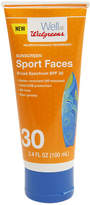Walgreens Sport Sunscreen Lotion Face SPF 30