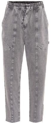 Stella McCartney Elasticated-waist jeans