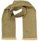 Loro Piana Wool Patterned Scarf