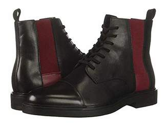 Calvin Klein Men's Dameon Nappa Calf Leather Combat Boot