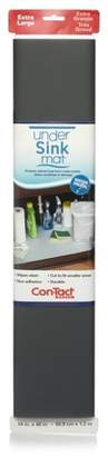 """Contact Con-Tact 24""""x4' Under Sink Mat Gray"""