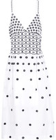 Temperley London Lizette Embroidered Cotton Dress