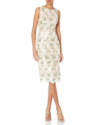 ABS by Allen Schwartz Women's Sleeveless Sheath Dress