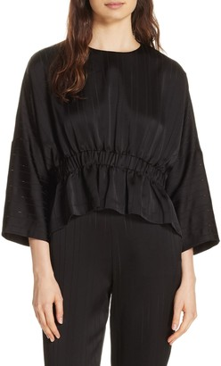 Ted Baker Cropped Ruched Blouse