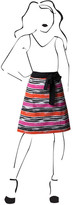 Simply Whimsical Mod Stripe Collette Apron