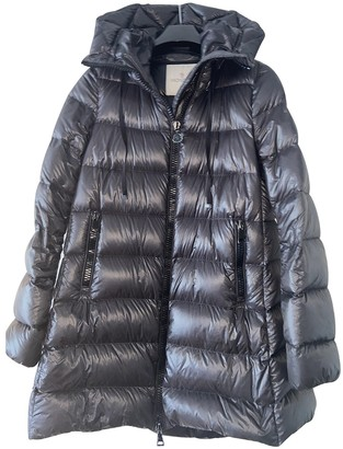 Moncler Long Anthracite Coat for Women
