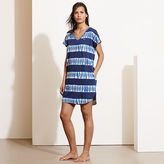 Ralph Lauren Cotton Jersey V-Neck Nightgown