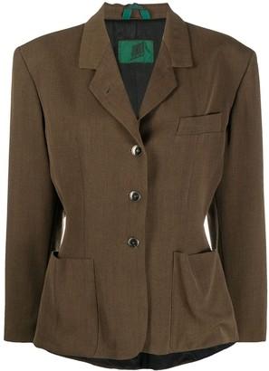 Jean Paul Gaultier Pre Owned 1980s Single-Breasted Jacket