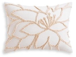 Lucky Brand Closeout! Tufted Floral Standard Sham Bedding