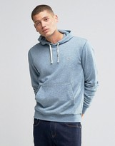 Farah Hoodie With F Logo In Regular Fit Blue Marl