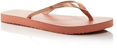 8ffe56348d18 Gold Tory Burch Thong Sandals - ShopStyle