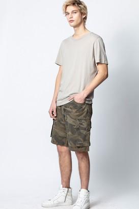 Zadig & Voltaire Pidji Camo Shorts