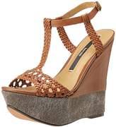 Kensie Women's Shelly Wedge Sandal,,9 M US