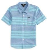 Volcom Toddler Boy's Meyers Short Sleeve Woven Shirt