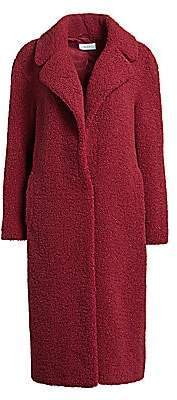 A.L.C. Women's Caron Fuzzy Faux Curly Shearling Coat