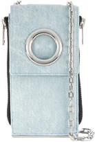 Alexander Wang Denim Riot Shoulder Wallet bag
