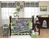 JoJo Designs Zebra Lime Wall Decal Stickers by Sweet Set of 4 Sheets