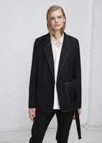 Hope blue black pure blazer