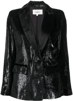 BA&SH Kartel metallic-effect blazer
