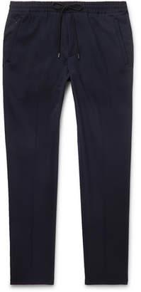 HUGO BOSS Navy Slim-Fit Woven Drawstring Trousers