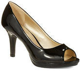 Bandolino Supermodel Peep Toe Pumps