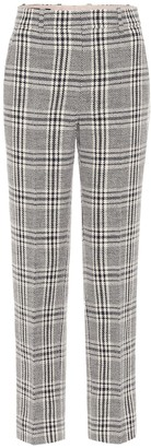 Gucci Wool and cotton-blend straight pants