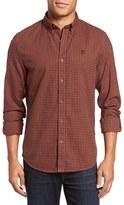 Timberland Men's Slim Fit Gingham Check Sport Shirt