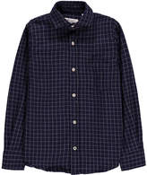 Hartford Paul Small Checked Flannel Shirt