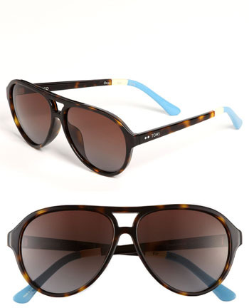 Toms 'Marco' 58mm Aviator Sunglasses