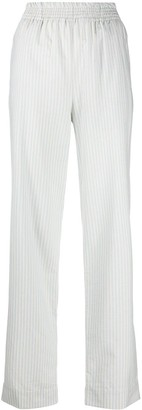 aganovich Striped Elasticated Waist Trousers