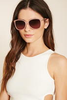Forever 21 Metal Accent Square Sunglasses