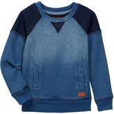 7 For All Mankind Long Sleeve Pop Over Sweater (Little Boys)