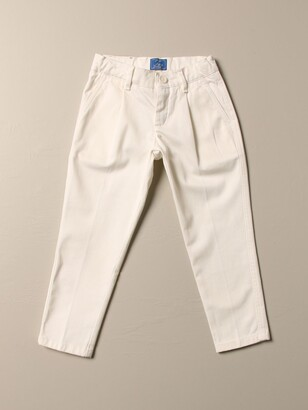 Fay Trousers In Cotton Blend