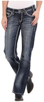 Rock and Roll Cowgirl Riding Boot Cut in Dark Vintage (Dark Vintage) Women's Jeans