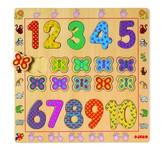 Djeco Wooden Number Puzzle