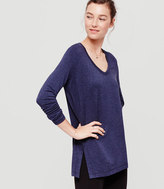 Lou & Grey Signaturesoft V-Neck Tunic