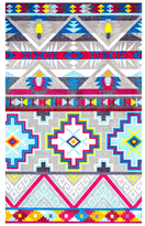 nuLoom Donella Retro Tribal Hand-Tufted Moroccan Rug