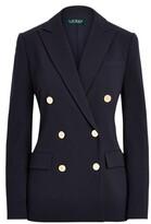 Thumbnail for your product : Lauren Ralph Lauren Ralph Lauren Wool Crepe Blazer